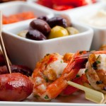 Prawns &amp; Mixed Olives