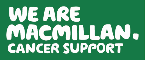 We Are Macmillan Cancer Support Logo