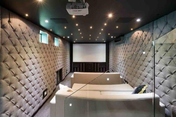 Very Modern Home Cinema