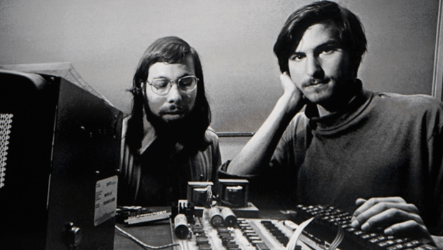 Steve Jobs & Steve Wozniak from Apple