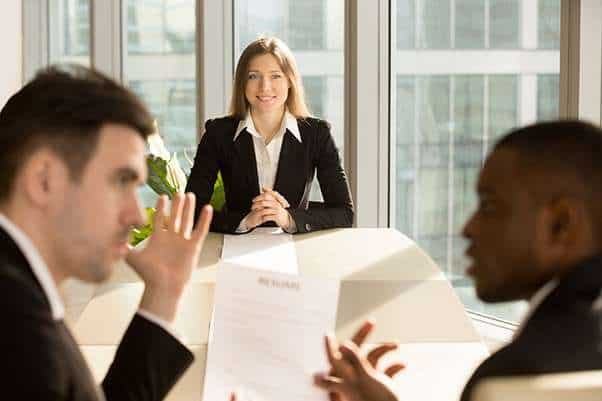 Meeting attendees not taking notice of person speaking