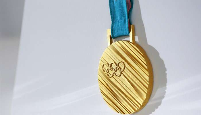 Winter Olympics gold medal