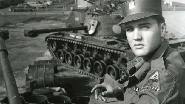 Elvis Presley in the Army in Germany