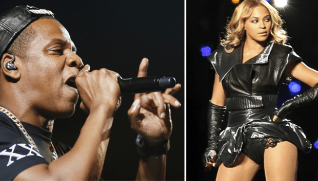 Jay Z and Beyonce in concert