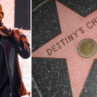 Jay Z and Destiny's Child Hollywood Star on Walk of Fame Chinese Theatre