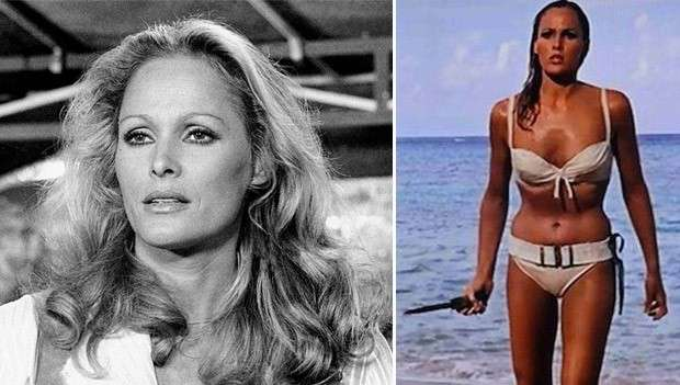Ursula Andress as Honey Ryder in James Bond iconic ocean scene