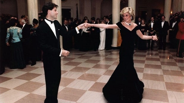 When Princess Diana Met John Travolta On The Dance Floor Blog Meetings